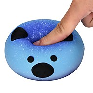 Stress Relievers Toys Round Galaxy Starry Sky Pig Elasticity Kids Adults' 1 Pieces