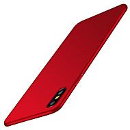 Недорогие Кейсы для iPhone 8-Кейс для Назначение Apple iPhone X iPhone 8 iPhone 6 iPhone 7 Plus iPhone 7 Матовое Кейс на заднюю панель Сплошной цвет Твердый ПК для