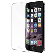 halpa iPhone näytönsuojat-Näytönsuojat Apple varten iPhone 8 Karkaistu lasi 1 kpl Näytönsuoja 3D pyöristetty kulma Tahraantumaton 9H kovuus Teräväpiirto (HD)