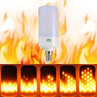 ywxlight® 1pcs e26 e14 b22 led flicker efeito de chama levou fogo lâmpada incêndio acesa 85-265v