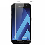 Недорогие Чехлы и кейсы для Galaxy A-Защитная плёнка для экрана Samsung Galaxy для A7 (2017) Закаленное стекло 1 ед. Защитная пленка для экрана 2.5D закругленные углы Уровень