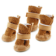 abordables Hogar y Mascotas-Encantadores Zapatos de Velcro para Perros - Colores Surtidos, XS-XL, 4 Unidades