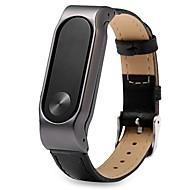 Недорогие Ремешки для часов Xiaomi-Ремешок для часов для Mi Band 2 Xiaomi Ремешки для часов Натуральная кожа Повязка на запястье