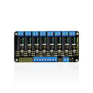 olcso Arduino tartozékok-keyestudio 8-csatornás szilárdtest relé modul az arduino számára