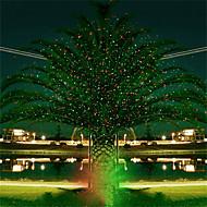 abordables Focos LED-Proyector hkv® full sky star christmas láser lámpara verde&Luz de escenario led roja al aire libre jardín césped luz