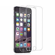 levne iPhone fólie na obrazovku-Screen Protector pro Apple iPhone 6s / iPhone 6 Tvrzené sklo 2 ks Chránič obrazovky / Fólie na displej High Definition (HD) / 9H tvrdost / 2.5 D zaoblený okraj