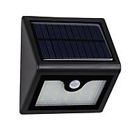 1 db szuper fényes 16leds vízálló napelemes fény pir mozgásérzékelő kültéri kerti patio útvonal fali tartó kerítés biztonsági lámpa