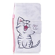 Case For Samsung Galaxy J7 (2017) J5 (2017) Card Holder Wallet with Stand Flip Pattern Full Body Cat Hard PU Leather for J7 (2017) J5