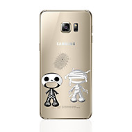 Недорогие Чехлы и кейсы для Galaxy S7 Edge-Кейс для Назначение SSamsung Galaxy S8 Plus S8 С узором Кейс на заднюю панель Мультипликация Мягкий ТПУ для S8 Plus S8 S7 edge S7 S6 edge
