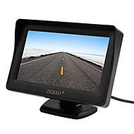 ZIQIAO 4.3 дюймовый TFT-LCD Автомобильный реверсивный монитор для Автомобиль