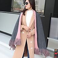 preiswerte Schals & Tücher-Damen Polyester Rechteck Einfarbig