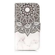 voordelige Galaxy S5 Hoesjes / covers-hoesje Voor Samsung Galaxy S8 Plus S8 Kaarthouder Portemonnee Schokbestendig met standaard Flip Volledige behuizing Mandala Hard PU-leer