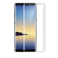 billige Skærmbeskyttelse til Samsung-Skærmbeskytter Samsung Galaxy for Note 8 Hærdet Glas 1 stk Skærmbeskytter Skærmbeskyttelse 3D bøjet kant Anti-fingeraftryk