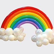 voordelige Feestdagen- & Feestartikelen-regenboog ballon set verjaardagsfeestje bruiloft decor (20 lange ballon, 16 ronde ballon