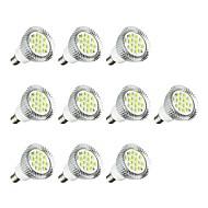10 stuks 5W E14 LED-spotlampen E14 / E12 16 leds SMD 5630 LED verlichting Wit 380lm 3000-3500/6000-6500K AC 85-265V