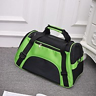 Cat Dog Backpack Pet Carrier Portable Breathable Foldable Solid Blue Green Purple