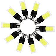 Недорогие Внешние огни для авто-10 шт. Стационарный Лампы 10W COB 2 Внешние осветительные приборы For Универсальный Универсальный Универсальный
