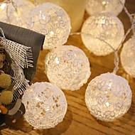 olcso -20 led 3m csillag könnyű vízálló dugó szabadtéri ünnepi dekoráció fényvezető string fény