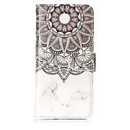 Недорогие Кейсы для iPhone 8 Plus-Кейс для Назначение Apple iPhone X iPhone 8 Бумажник для карт Кошелек со стендом Чехол Мандала Твердый Кожа PU для iPhone X iPhone 8