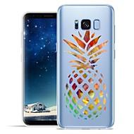 Недорогие Чехлы и кейсы для Galaxy S7-Кейс для Назначение SSamsung Galaxy S8 Plus S8 С узором Кейс на заднюю панель Фрукты Мягкий ТПУ для S8 Plus S8 S7 edge S7 S6 edge plus S6