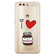 お買い得  携帯電話ケース-ケース 用途 Huawei社P9 Huawei社P9ライト Huawei社P8 Huawei Huawei社P9プラス Huawei P7 Huawei社P8ライト Huawei社メイト8 P10 Lite パターン バックカバー カートゥン ソフト TPU のために