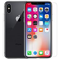 Näytönsuojat varten Apple iPhone X PET 1 kpl Näytön- ja takakannen suoja Teräväpiirto (HD) Ultraohut Naarmunkestävä Tahraantumaton
