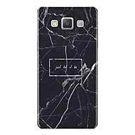 Недорогие Чехлы и кейсы для Galaxy A5(2016)-Кейс для Назначение SSamsung Galaxy A7(2017) С узором Кейс на заднюю панель Слова / выражения Мрамор Мягкий ТПУ для A3 (2017) A5 (2017)