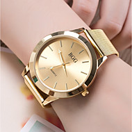 cheap Jewelry & Watches-Women's Wrist Watch Quartz Casual Watch Cool Alloy Band Analog Fashion Gold / Rose Gold - Golden Rose Gold One Year Battery Life / SSUO 377