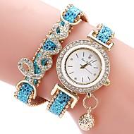 voordelige Modieuze horloges-Dames Kinderen Modieus horloge Unieke creatieve horloge Gesimuleerd Diamant Horloge Chinees Kwarts Chronograaf Waterbestendig