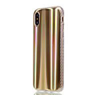 Недорогие Кейсы для iPhone 8 Plus-Кейс для Назначение Apple iPhone X iPhone 8 Plus Покрытие Кейс на заднюю панель Полосы / волосы Градиент цвета Мягкий ТПУ для iPhone X