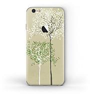 Недорогие Защитные плёнки для экрана iPhone-1 ед. Наклейки для Защита от царапин Лолита дерево Узор Матовое стекло PVC iPhone 6s/6
