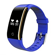 cheap -V8I Smart Bracelet Smartwatch Android iOS Bluetooth Calories Burned Bluetooth Touch Sensor Exercise Record Pulse Tracker Pedometer Call Reminder Activity Tracker Sleep Tracker / Sedentary Reminder