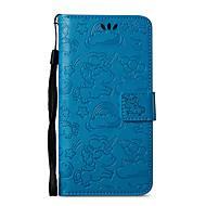 お買い得  携帯電話ケース-ケース 用途 Nokia Nokia 8 Nokia 6 カードホルダー ウォレット スタンド付き フリップ パターン フルボディーケース ユニコーン ハード PUレザー のために Nokia 8 Nokia 6 Nokia 5 Nokia 3