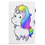 Case For Samsung Galaxy Tab S2 9.7 Tab A 10.1 (2016) Card Holder with Stand Flip Pattern Full Body Unicorn Hard PU Leather for Tab S2 9.7