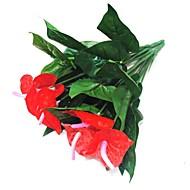 abordables Flores Artificiales-Flores Artificiales 1 Rama Modern Flores eternas Flor de Mesa
