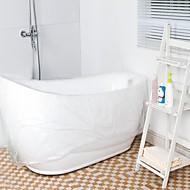お買い得  浴室用小物-家庭用およびホテル用浴槽のための使い捨てフィルムバスタブバッグ