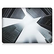 """お買い得  MacBook 用ケース/バッグ/スリーブ-MacBook ケース シティビュー ポリカーボネート のために 新MacBook Pro 13"""" / MacBook Air 13インチ / MacBook Air 11インチ"""