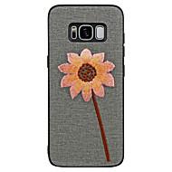 Недорогие Чехлы и кейсы для Galaxy S8-Кейс для Назначение SSamsung Galaxy S8 Plus S8 С узором Пейзаж Цветы Мягкий для
