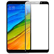 お買い得  -スクリーンプロテクター XIAOMI のために Xiaomi Redmi 5 Plus 強化ガラス 1枚 フルボディプロテクター 傷防止 防爆 2.5Dラウンドカットエッジ 硬度9H ハイディフィニション(HD)