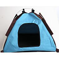 강아지 침대 애완동물 라이너 컬러 블럭 휴대용 애완 동물