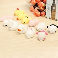cheap Toys & Hobbies-Squeeze Toy Toys Office Desk Toys Stress and Anxiety Relief Decompression Toys Fish Animals Animal 6 Pieces All Gift