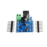 お買い得  Arduino 用アクセサリー-wemos d1 mini用DCパワーシールドv1.1.0