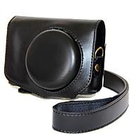 baratos Acessórios Para PC & Tablet-Tampa de bolsa de couro para câmera de couro dengpin pu para canon powershot g7 x mark ii g7x g7x2 (cores sortidas)