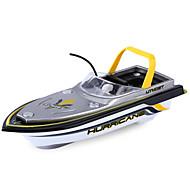 お買い得  ラジコン おもちゃ-RCボート HY218Yellow プラスチック 4 チャンネル KM / H RTF