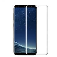 billige Skærmbeskytter Til Samsung-Skærmbeskytter Samsung Galaxy for S8 Hærdet Glas 1 stk Skærmbeskyttelse High Definition (HD) 9H hårdhed Ridsnings-Sikker 3D bøjet kant