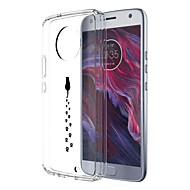 お買い得  携帯電話ケース-ケース 用途 Motorola E4 Plus パターン バックカバー 猫 ソフト TPU のために Moto X4 Moto E4 Plus Moto E4