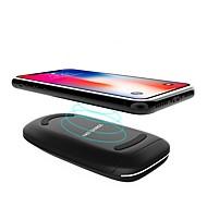 お買い得  iPod用チャージャー-ワイヤレスチャージャー 電話USB充電器 USB 過放電保護 過電流(入力および出力)保護 過電圧(入力および出力)保護 ワイヤレスチャージャー Qi 自動電流切替 高速充電器 USBポート×1 2A DC 9V