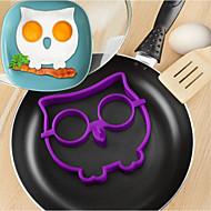 お買い得  キッチン用品 & 小物-1個 キッチンツール シリコーン ベーキングツール クリエイティブキッチンガジェット DIY DIYの金型 卵ツール 卵のための