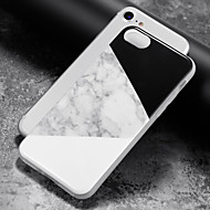 abordables Ofertas Diarias-Funda Para Apple iPhone 8 iPhone 8 Plus Funda iPhone 5 iPhone 6 iPhone 7 IMD Funda Trasera Mármol Suave TPU para iPhone 8 Plus iPhone 8