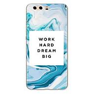 Недорогие Чехлы и кейсы для Huawei Honor-Кейс для Назначение Huawei P9 Huawei P9 Lite Huawei P8 Huawei Huawei P9 Plus Huawei P7 Huawei P8 Lite Huawei Mate 8 P10 Plus P10 Lite С